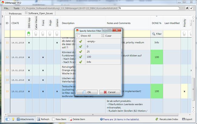 DBM - Task Management Tool
